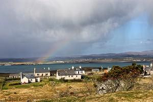 Rainbow over Beinn Ghrideag