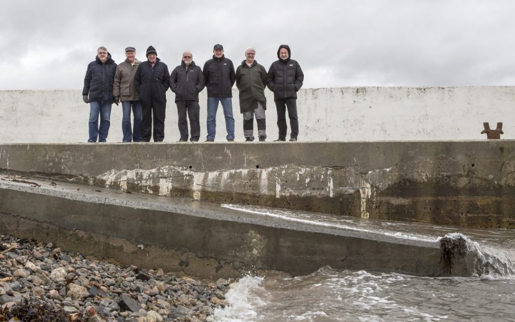 Portnaguran pier funded by Point and Sandwick Trust