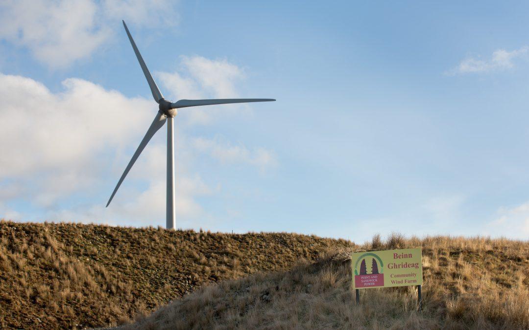 Point Sandwick Wind Turbine
